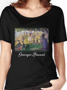 Georges Seurat - A Sunday on La Grande Jatte Women's Relaxed Fit T-Shirt