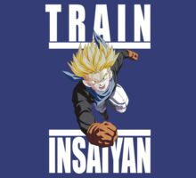 Train Insaiyn - Trunks by irig0ld