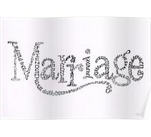 Marriage Is Poster