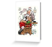Christmas Tattoo Greeting Card