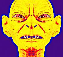 Gollum, alias in The Lord of the Rings: The Two Towers by Art Cinema Gallery