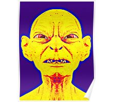 Gollum, alias in The Lord of the Rings: The Two Towers Poster