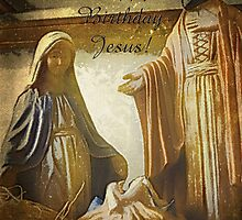 Happy Birthday Jesus by vigor