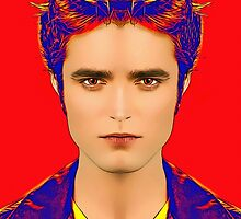 Robert Pattinson, alias in Twilight by Art Cinema Gallery