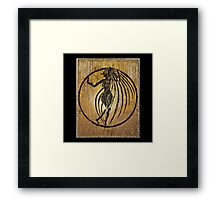 Oxum, Orixa of rivers and sensuality Framed Print