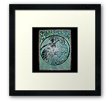 Yemanja, Orixa of the ocean Framed Print