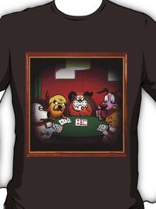 Dogs Playing Poker T-Shirt
