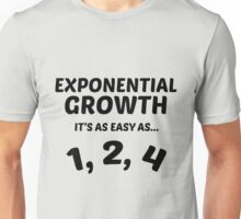 Exponential Growth Unisex T-Shirt