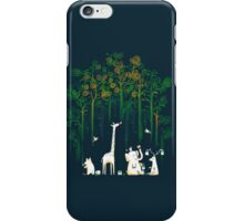 Re-paint the forest iPhone Case/Skin