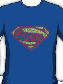 Superman Typography T-Shirt