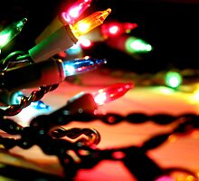 Christmas lights  by Elena Elisseeva