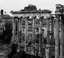 Rome - The Imperial Forums  by Andrea Mazzocchetti