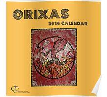 Orixas Calendar Cover 2014 Poster