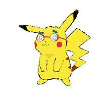 Pikachu Van Houten Photographic Print