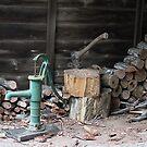 Woodpile in August by aussiebushstick