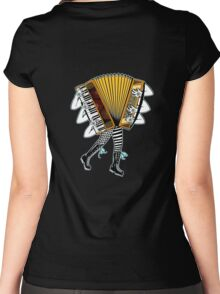 Accordion Avatar Women's Fitted Scoop T-Shirt