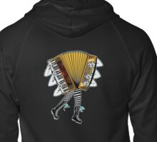 Accordion Avatar Zipped Hoodie