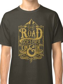 The Road - Gold Classic T-Shirt