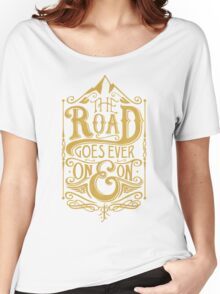 The Road - Gold Women's Relaxed Fit T-Shirt