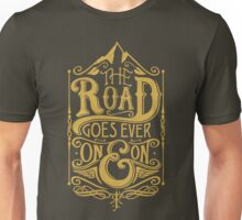 The Road - Gold Unisex T-Shirt