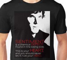 Sherlock BBC Sentiment Sticker Unisex T-Shirt
