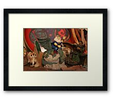 March Fantasy Framed Print