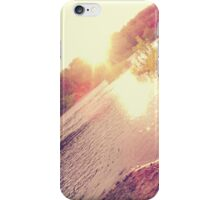 Le Sunset. iPhone Case/Skin