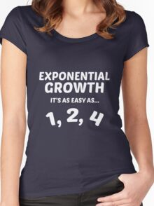 Exponential Growth Women's Fitted Scoop T-Shirt