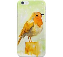 Watercolor Baby Sparrow iPhone Case/Skin