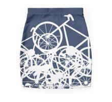 Bike Jumble White Mini Skirt