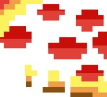 Pizza - 8 bit Sticker