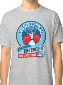 Blue Boxer Champion Detergent Retro T-shirt- original art Classic T-Shirt