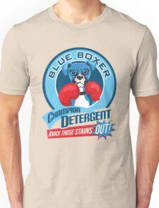 Blue Boxer Champion Detergent Retro T-shirt- original art Unisex T-Shirt