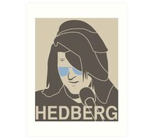 Mitch Hedberg Art Print