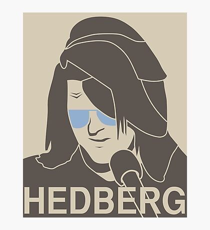 Mitch Hedberg Photographic Print