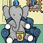 Elephant and the Bird - Movie Night by Brett Gilbert