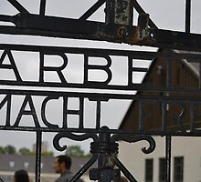 Work Sets You Free-Dachau, Germany by Venice Anderson