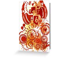 24/7/365 Greeting Card
