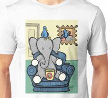 Elephant and the Bird - Movie Night Unisex T-Shirt