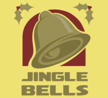 Jingle Bells - Gold Kids Tee