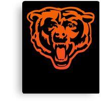 NFL Chicago Bear Basic Scrum Fantasy Football Games T Shirt Canvas Print