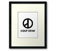 """G-Dragon """"Coup D'Etat"""" (Ver 2) Framed Print"""
