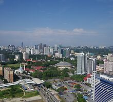 A City Scape of Kuala Lumpur by R-Walker
