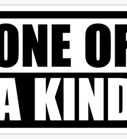 """G-Dragon """"One of a Kind"""" (Ver 1) Sticker"""