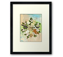 Bright Spring Rat King Framed Print