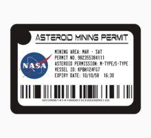 Asteroid Mining Permit by ishbandori