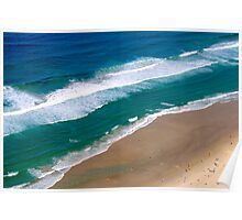 Pacific Ocean ~ Surfers Paradise Poster
