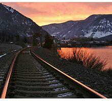Gorge-ous Sunrise Photographic Print