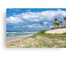 Oasis Beach ~ Gold Coast Canvas Print