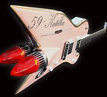 1959 Aluminium Cadillac Guitar by MidnightRocker